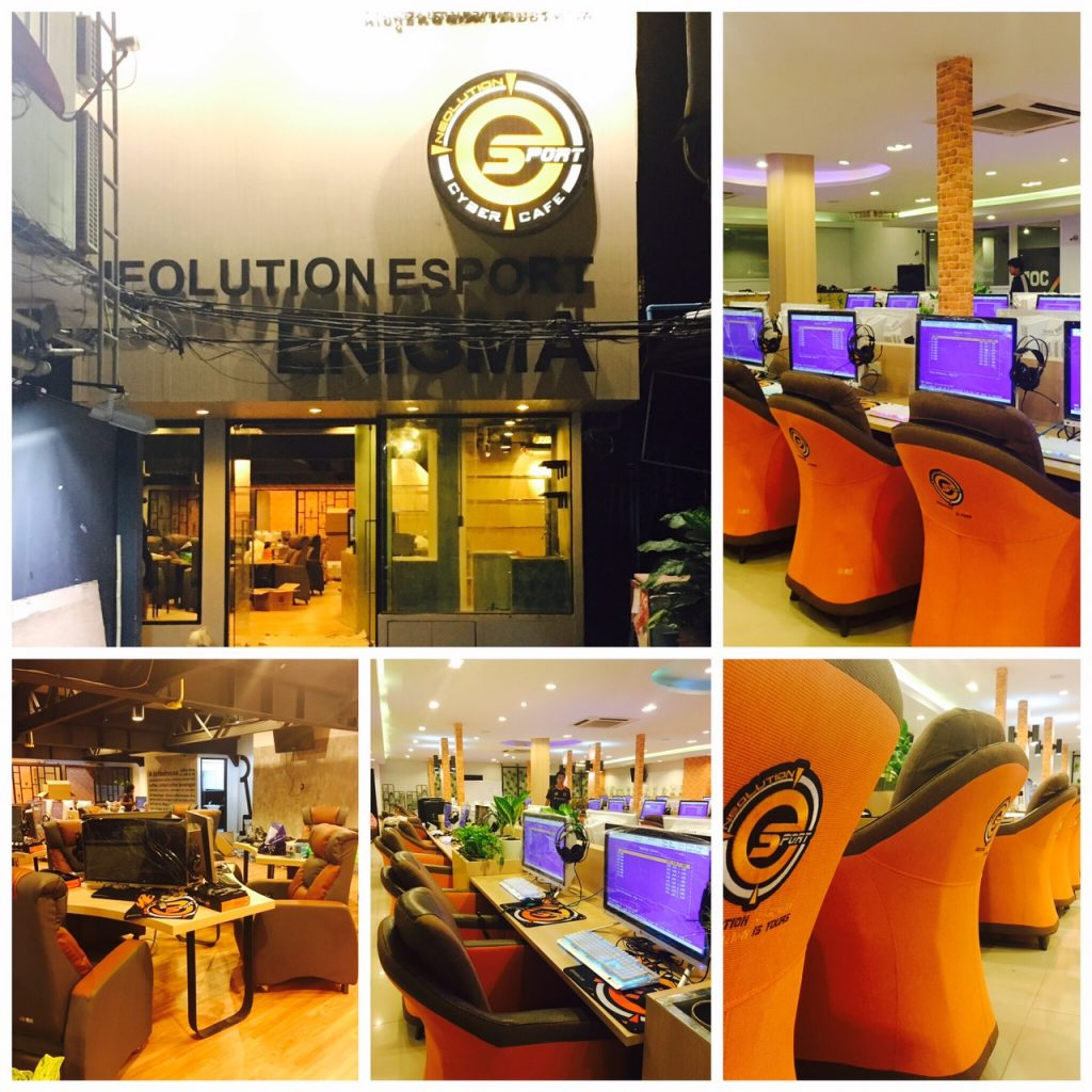 "Neolution Esport Stadium3.0 : Neolution Esport Enigma generation ที่3 ของ ร้าน Internet Cafe ภายใต้ไอเดียง่ายๆที่ว่า "" คุณจะไม่รู้สึกว่าอยู่ในร้านเน็ตอีกต่อไป"""