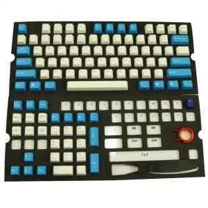 Keycap ตัวใหญ่สีน้ำเงิน