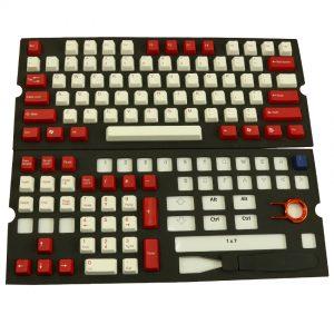 Keycap ตัวใหญ่สีแดง