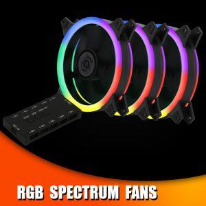 RGB Spectrum Fans