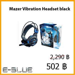 Mazer Vibration Headset black